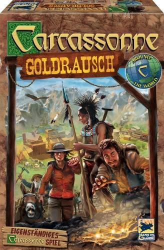 Carcassonne Goldrausch Legespiel