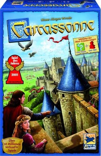 Carcassonne  Spiel + 2 Mini-Erweiterungen 48253