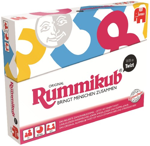 Original Rummikub With a Twist B-Ware OVP