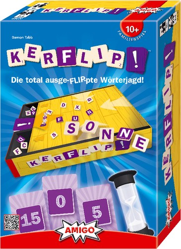 Kerflip Wörterjagd Partyspiel Amigo Spiele B-Ware OVO