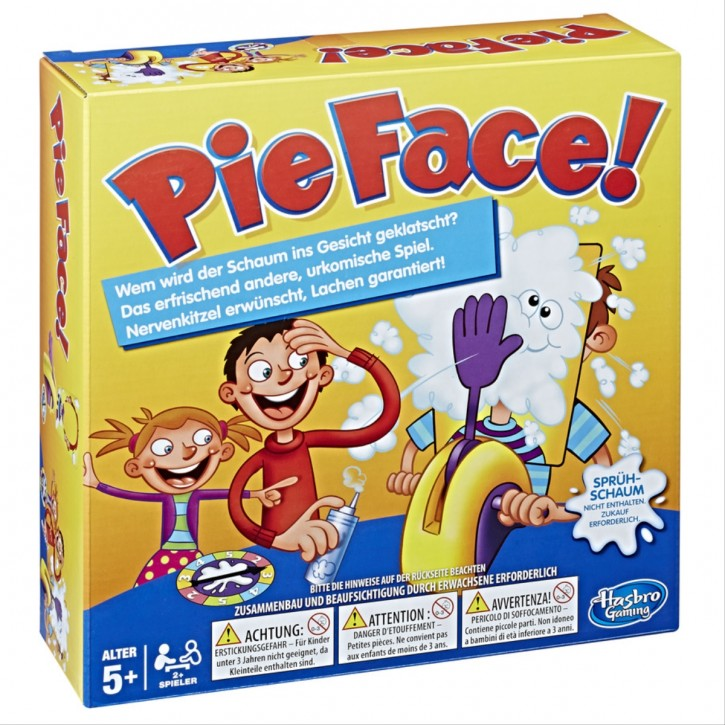 Pie Face Kinderspiel
