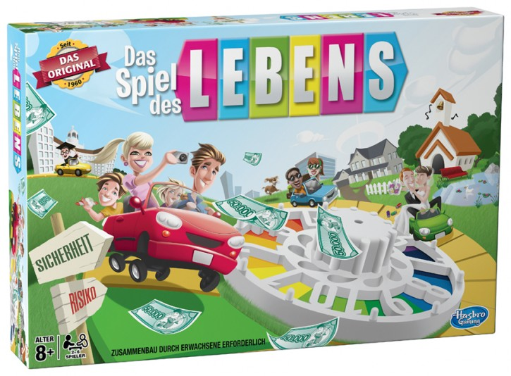 Spiel des Lebens Familienspiel