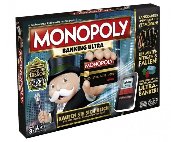 Monopoly Banking Ultra (Deutsche Version) B-Ware OVP