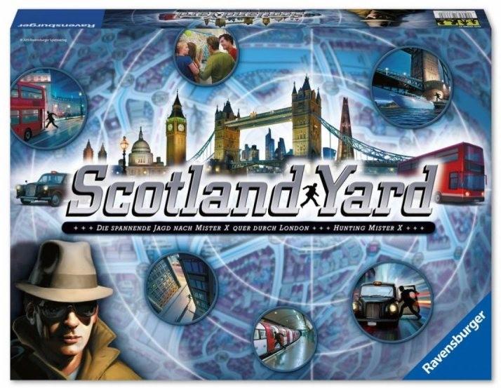 Scotland Yard Brettspiel Neuauflage Ravensburger B-Ware Lagerräumung