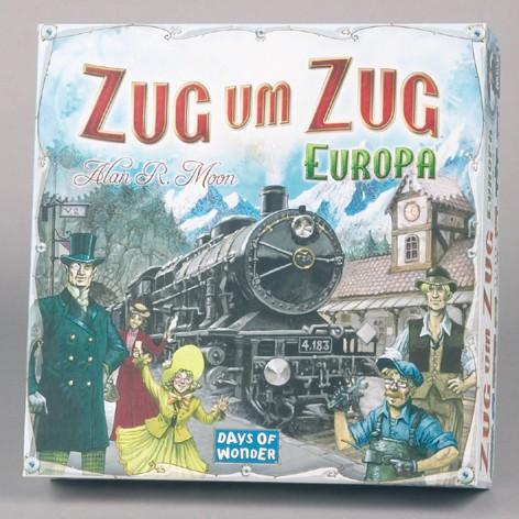 Zug um Zug Europa Brettspiel B-Ware OVP