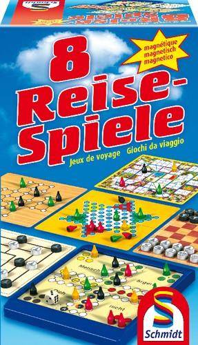 8 Reisespiele magnetisch Schmidt Spiele B-Ware OVP