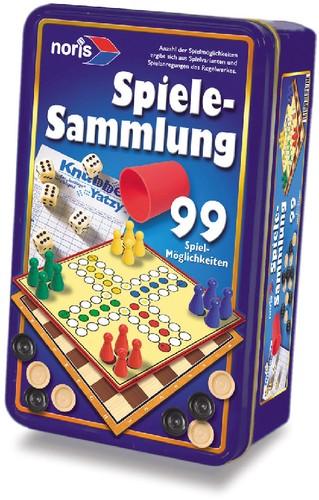 NORIS Spiele 99iger Spielesammlung in Metalldose