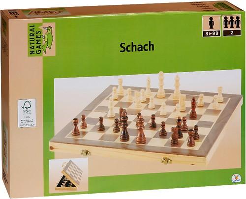 Natural Games Schachkassette 40 x 20 x 6 cm B-Ware OVP