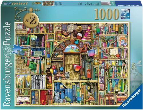 Ravensburger Puzzle Magisches Bücherregal Nr. 2 1000T-B-Ware OVP
