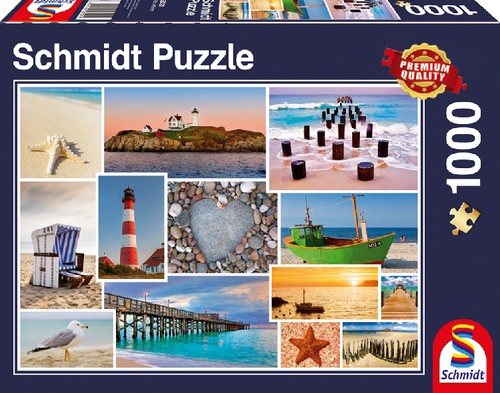 Puzzle Am Meer 1.000 Teile B-Ware OVP