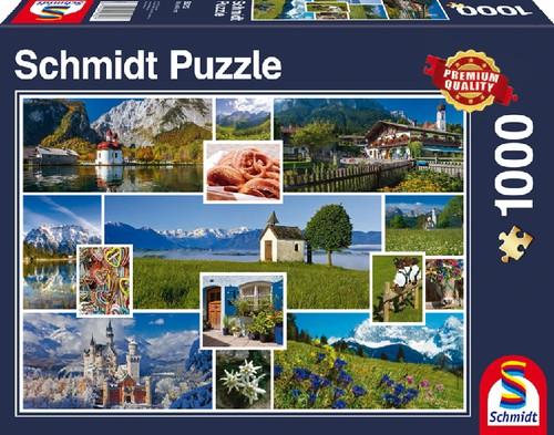 Puzzle In den Bergen 1.000 Teile B-Ware OVP