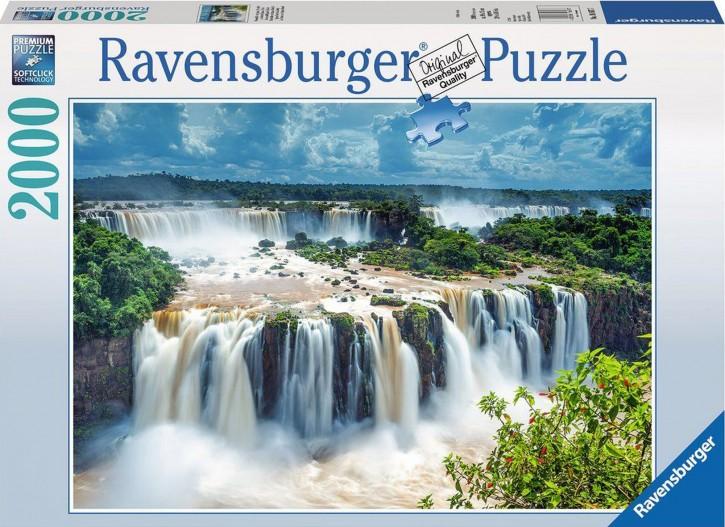 RV 16607 Puzzle Wasserfälle von Iguazu 2.000 B-Ware OVP