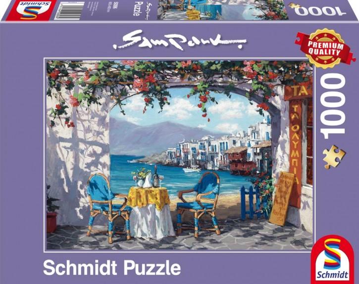 Puzzle Rendez-vous auf Mykonos 1000 Teile B-Ware OVP