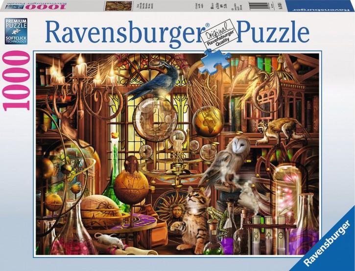 RV 19834 Puzzle: Merlins Labor 1000 Teile B-Ware OVP