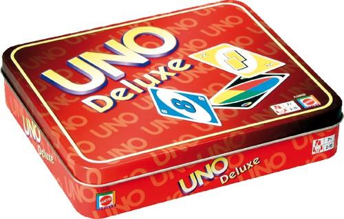 UNO Deluxe Kartenspiel in Geschenkbox B-Ware OVP