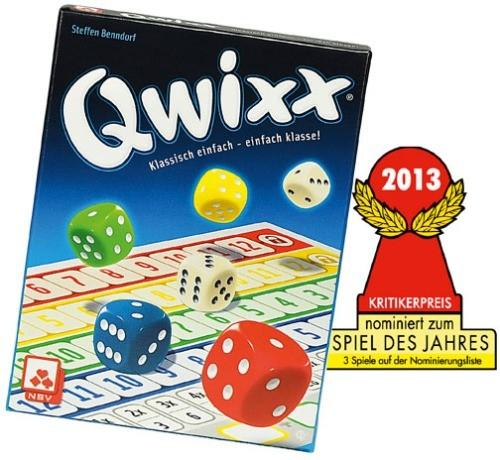 Qwixx Würfel-Mitbringspiel ab8J