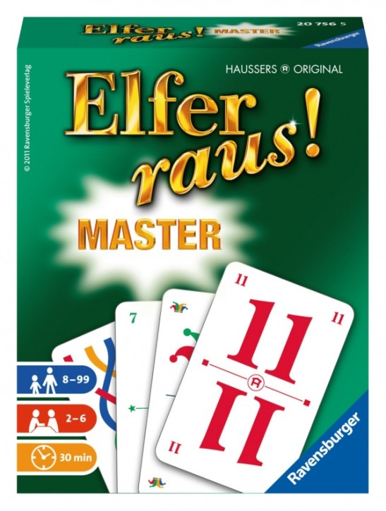 Ravensburger 207565 Elfer raus! Master