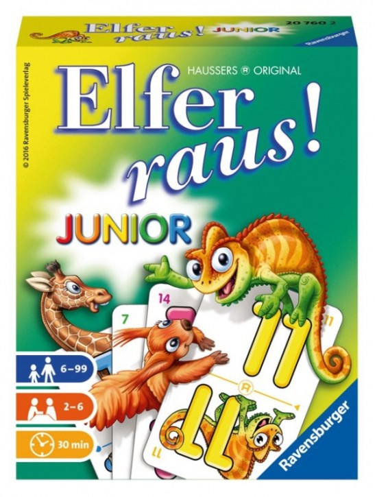 Ravensburger 207602 Elfer raus! Junior