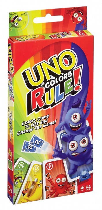 Mattel UNO Super-Joker (inkl. 4 Kartenhalter) 7+j B-Ware OVP