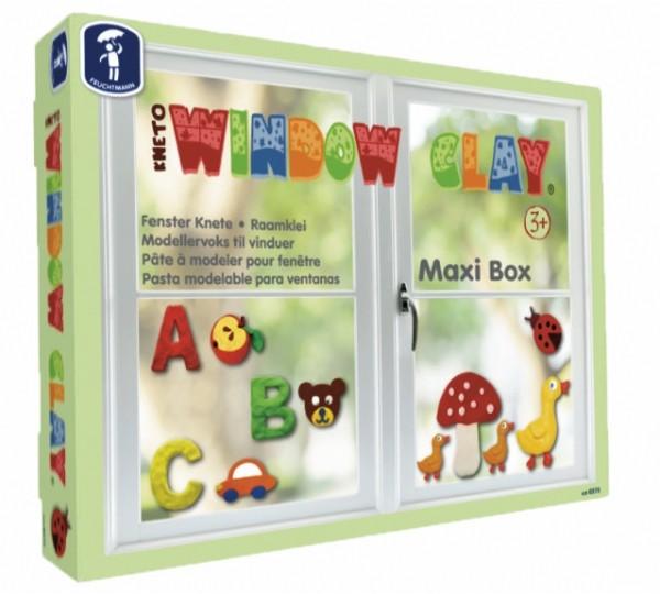 Kneto Window Clay Maxi Box Fenster Knete