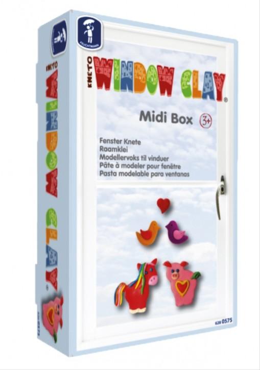 Kneto Window Clay Midi Box Fenster Knete