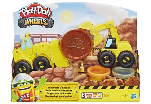 Hasbro Play Doh Schaufelbagger