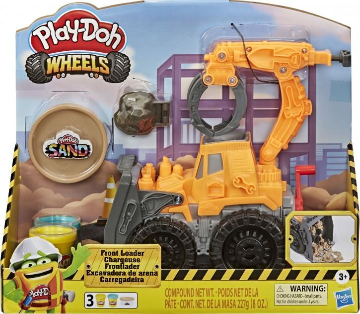 Hasbro Play-Doh Wheels Frontlader B-Ware OVP