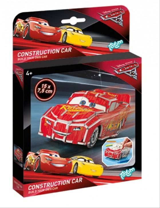 Cars 3 Construction Car Rennauto selbst basteln 4+j