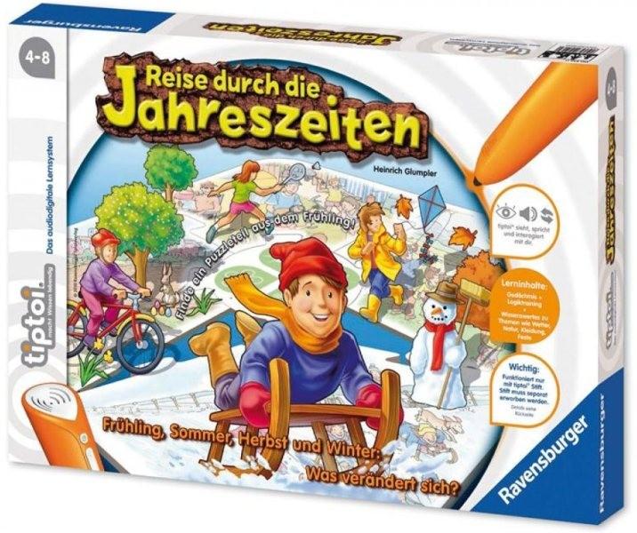 Ravensburger Tiptoi Puzzlespiel Reise durch die Jahreszeiten ab 4 J.