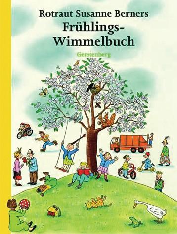 Wimmelbuch Frühling 2+j