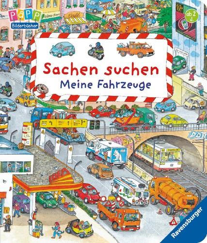 Ravensburger 43319 Sachen suchen Meine Fahrzeuge 2+j