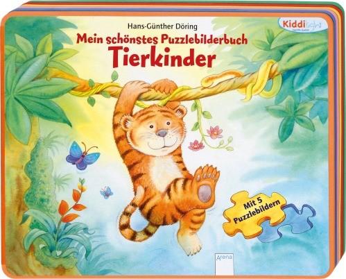 Kiddilight Mein schönstes Puzzlebilderbuch Tierkinder 2+j