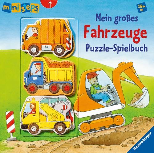 Ravensburger ministeps Fahrzeuge Puzzle-Spielbuch 18+m