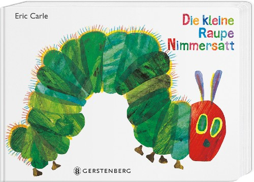 Die kleine Raupe Nimmersatt Geschenkausgabe 2+j Mängelexemplar