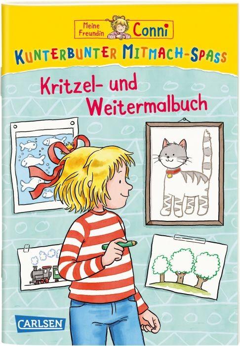 Conni Kritzel- und Weitermalbuch Kunterbunter Mitmachspaß