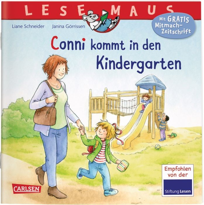 Lesemaus 9: Conni kommt in den Kindergarten