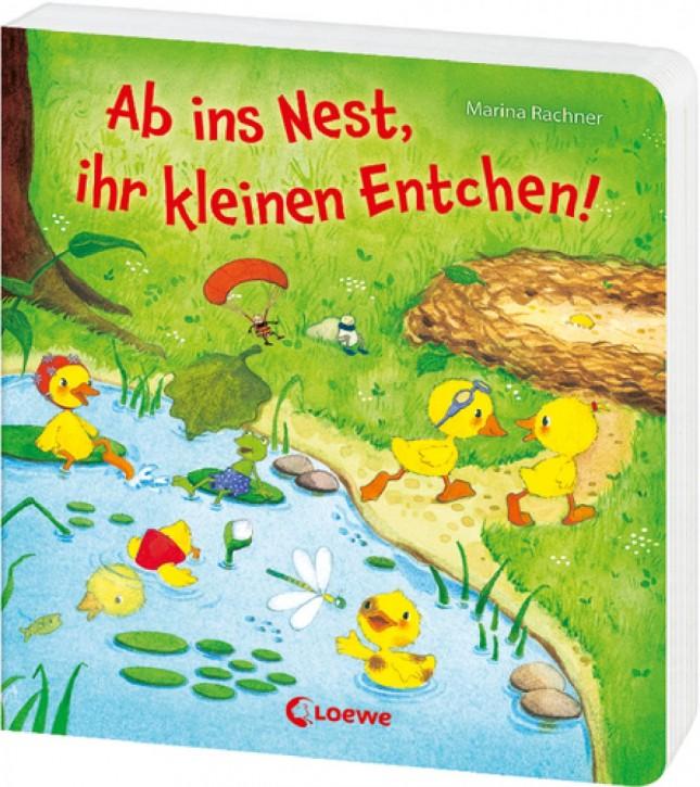 Loewe Ab ins Nest ihr kleinen Entchen 2+j Mängelexemplar