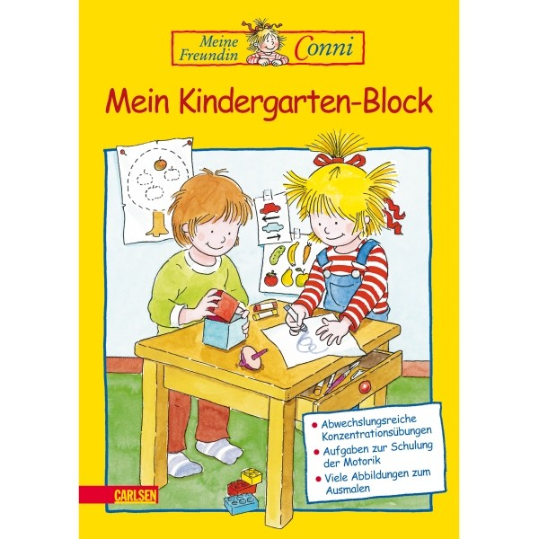 Conni Mein Kindergartenblock