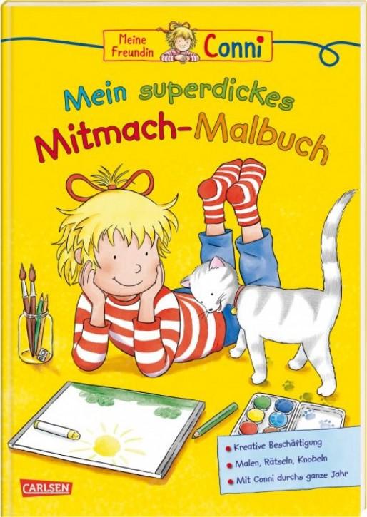 Conni Mein superdickes Mitmach-Malbuch