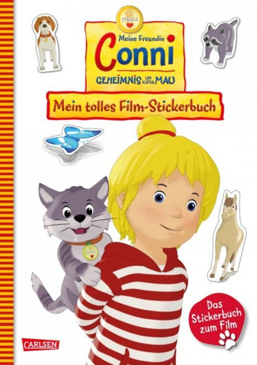 Conni Geheimnis um Kater Mau Film-Stickerbuch