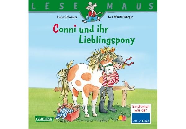 Lesemaus 107: Conni und ihr Lieblingspony