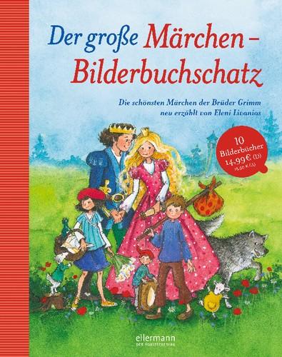 Der große Märchen-Bilderbuchschatz 3+j Mängelexemplar