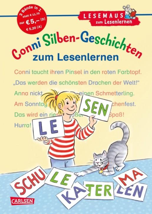 Lesemaus Conni Silben-Geschichten zum Lesenlernen