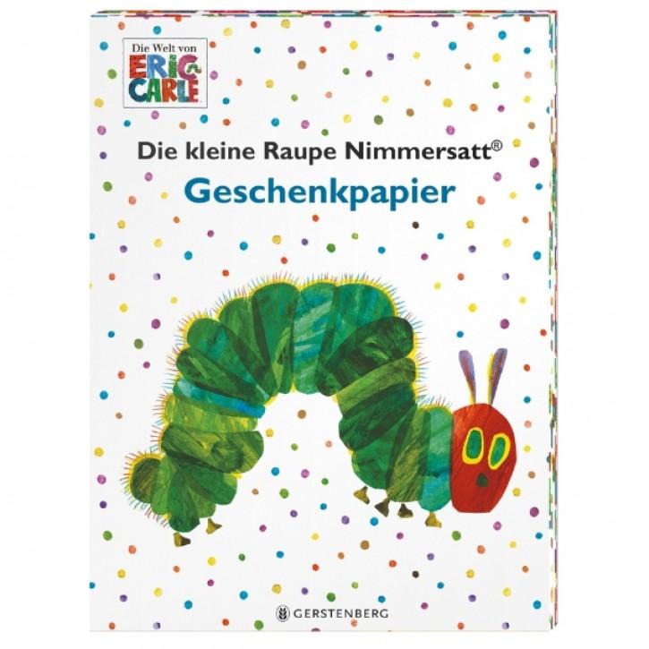Raupe Nimmersatt Geschenkpapier-Heft