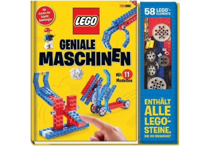 LEGO® Geniale Maschinen Buch inkl 58 LEGO-Elementen Mängelexemplar
