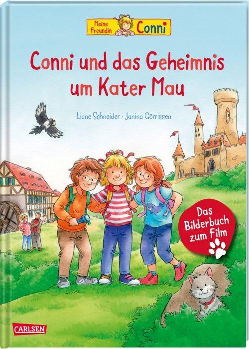 Conni und das Geheimnis um Kater Mau Bilderbuch