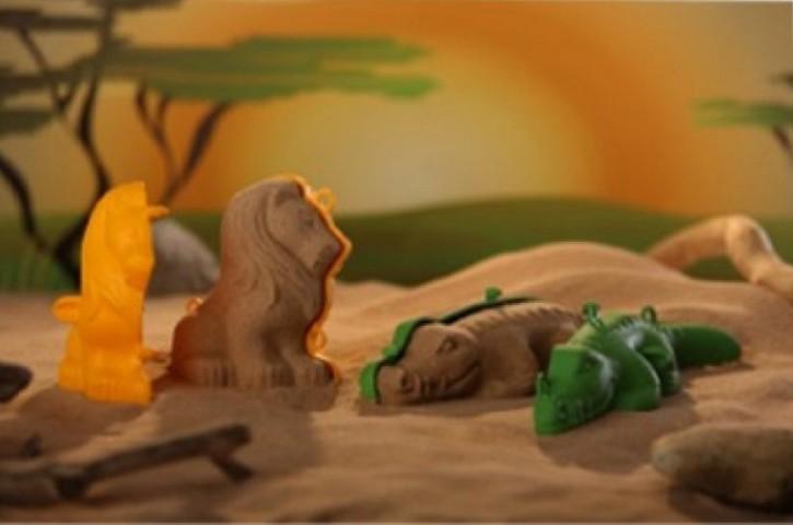 Sandfiguren 3D 8tlg