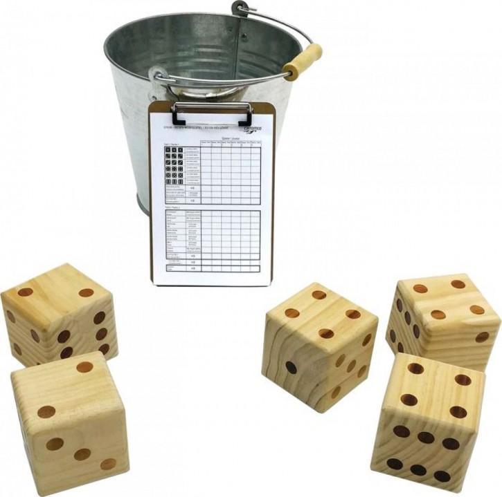 Riesen Würfelspiel 5 Würfel+50 Spielzettel