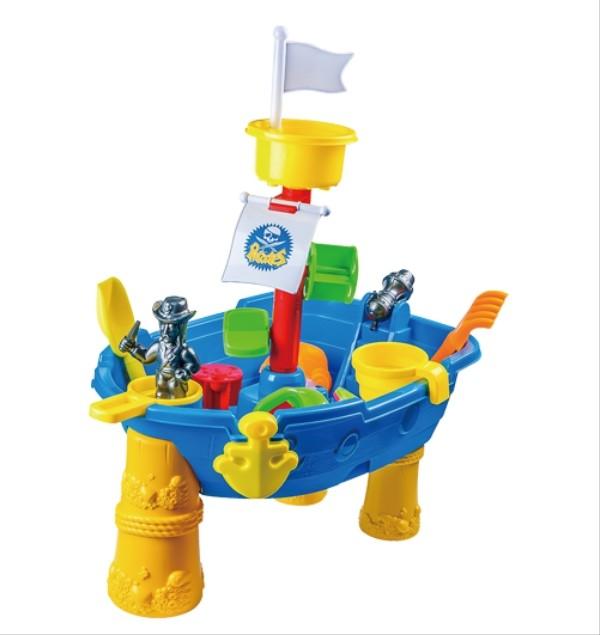 KNORRTOYS Piratenschiff Sand- und Wassertisch