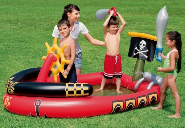 Bestway Spielpool Piratenschiff 190x140x96cm ab2J